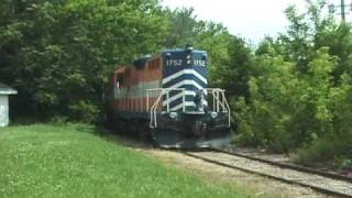 Download Adrian & Blissfield (Lionel lines) #1752 DT&I Branch - June 2004 Video