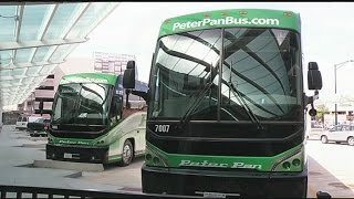 Download Peter Pan, Greyhound bus partering with Union Station Video
