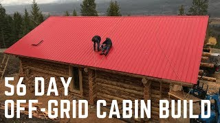 Download Building a 1500sq. ft Off-Grid Cabin in 56 Days Video