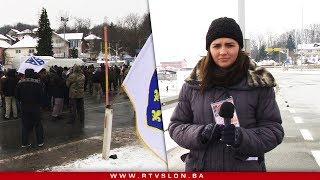 Download Demobilisani borci, blokirali raskrsnicu Šički Brod - 28.02.2018. Video