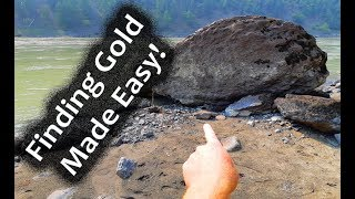 Download Finding gold made easy! - (Gold panning 2018) Video