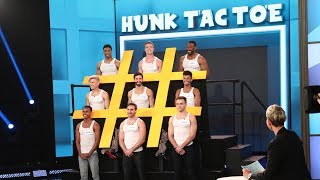 Download Ellen Introduces 'Hunk Tac Toe' Video