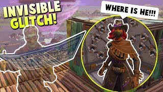Download Trolling Kids While INVISIBLE in Random Fortnite Playground Games Video