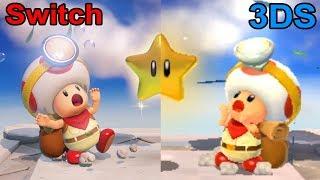 Download Captain Toad Treasure Tracker - Nintendo Switch vs. 3DS Comparison Video