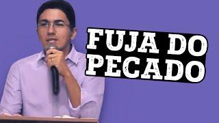 Download FUJA DO PECADO - Pregação Pastor Antonio Junior Video