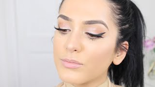 Download Glowy & Fresh Spring Makeup Ft. Giorgio Armani | ThePersianbabe | ad Video