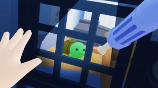 Download BABY BREAKS TURTLE OUT OF PRISON IN VIRTUAL REALITY!! (Baby Hands VR HTC Vive) Video