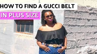 Download How to Find a Gucci Belt in Plus Size Video