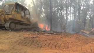 Download Bulldozers working at fires Video