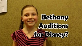 Download Bethany Auditions for the Disney Channel? Video