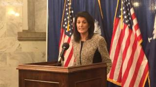 Download Gov. Nikki Haley talks about her meeting with President-elect Donald Trump Video