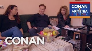 Download Conan & Sona Visit An Armenian Matchmaker - CONAN on TBS Video