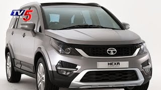 Download Tata Hexa Test Drive and Complete Review | Speedo Meter | Telugu News | TV5 News Video