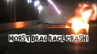 Download Worst Drag Race Crash! (Phil Lamattina) Video