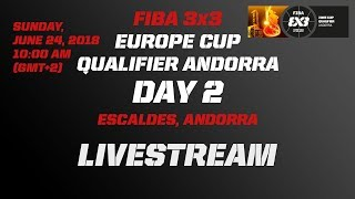Download LIVE 🔴 - FIBA 3x3 Europe Cup Qualifier - Andorra 2018 - Day 2 Video