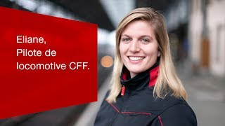 Download Eliane, Pilote de locomotive CFF. Video