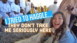 Download FOREIGN GIRL BUYING A GOAT IN OMAN | NIZWA GOAT AUCTION Video