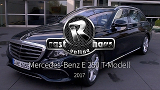 Download Mercedes Benz E 250 T-Modell S213 Test 2017 Video