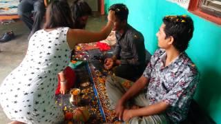Download tihar ko bhai tika with panta family Video