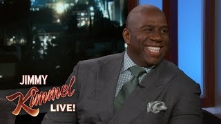 Download Magic Johnson on Signing LeBron James to the Lakers Video