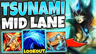 Download *TIDAL WAVE OF DEATH* FULL AP NAMI MID IS FREELO - League of Legends Video