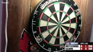 Download Rattlesnake vs Ezgame -WDA darts Tourney first round Video