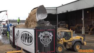 Download 4K| Volvo L120H Loading Scania R580 6X2 With Wood Chips Video