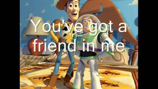 Download Toy Story - You've got a friend in me - lyrics Video