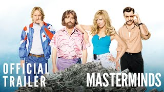 Download Masterminds - Official Trailer [HD] Video