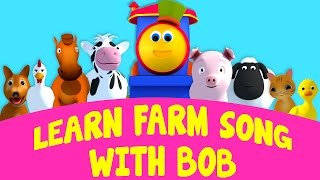 Download Bob The Train Learn Farm Song With Bob Old MacDonald Went to the farm Song Bob the train S01EP19 Video