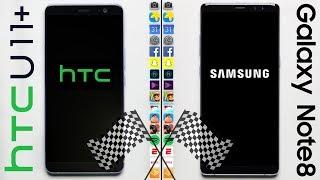 Download HTC U11+ vs. Galaxy Note 8 Speed Test Video