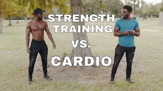 Download Cardio VS. Strength Training (Part 1) (THE BIGGEST FITNESS MYTH) Video