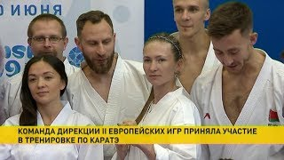 Download Дарья Домрачева попробовала свои силы в карате Video