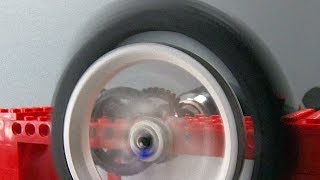 Download Spinning a Lego Wheel FAST Video