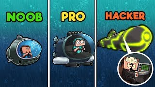 Download Minecraft - SUBMARINES! (NOOB vs PRO vs HACKER) Video