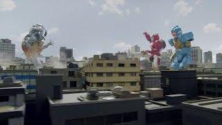 Download Robo Red Zord & Robo Rider Zord Vs Toxitea! Video
