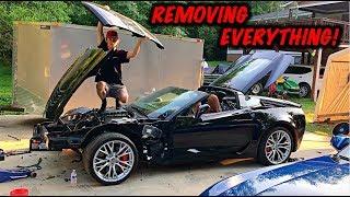 Download Rebuilding A Wrecked 2017 Corvette Z06 Part 4 Video