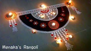 Download Door Rangoli Design | Door Kolam Design | Door muggu Video
