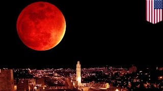Download Supermoon lunar eclipse: September 27 to see rare blood supermoon and lunar eclipse - TomoNews Video