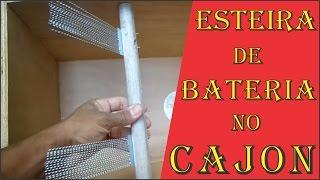 Download Macete para colocar esteira de bateria em cajon. Video