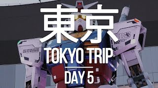 Download TOKYO TRIP - Day 5 - Fun at Odaiba: Huge game arcade, Gundam statue, capsule toys, and more! Video