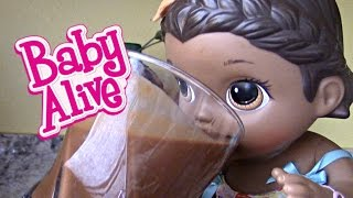 Download BABY ALIVE makes her own SMOOTHIE! The Lilly and Mommy Show! The TOYTASTIC Sisters SURPRISE ending! Video