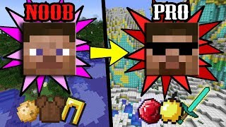 Download SMARTEST and Simplest Ways to Transform from NOOB to PRO in Minecraft Video