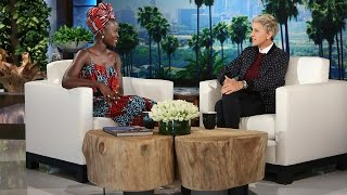 Download Ellen andLupita Nyong'oGet Their Sexy-Face On Video