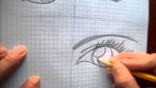 Download Como dibujar 4 tipos diferentes de ojos anime Video