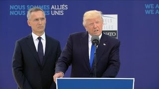 Download Trump's full speech at NATO 9/11 memorial Video