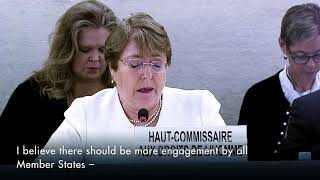 Download Michelle Bachelet - Upholding human rights is in the interest of every State Video