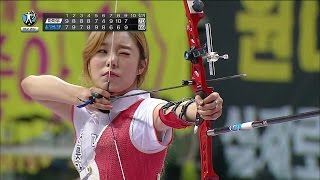 Download 【TVPP】 Whee In(MAMAMOO) - W Archery Final, 휘인(마마무) - 여자 양궁 결승 @ 2015 Idol Star Championships Video