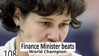 Download Finance Minister beats World Champion Video
