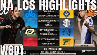 Download NA LCS Highlights ALL GAMES Week 8 Day 1 Full Day Highlights Summer 2018 W7D1 Video